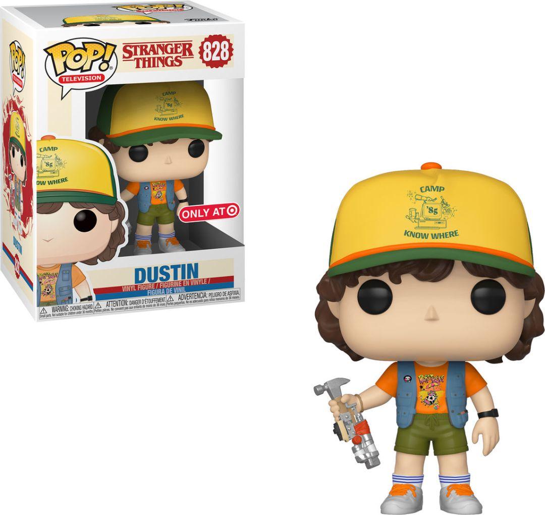 Funko Pop! Television #828 Stranger Things Dustin [Roast Beef T-Shirt]