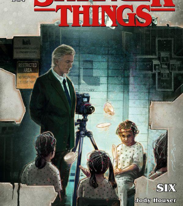 Dark Horse Comics Stranger Things: Six issue #2 cover