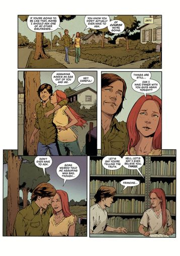 Dark Horse Comics Stranger Things: Six issue #2 preview page 6