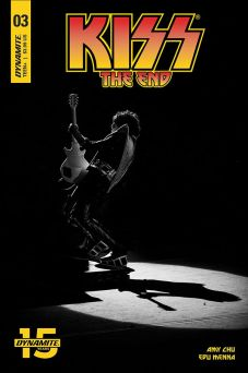 Dynamite Entertainment's KISS: The End issue #3 photo variant cover D