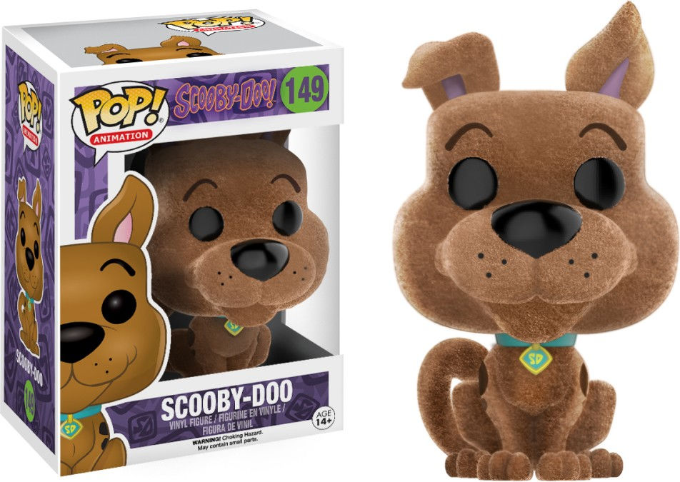 Funko Pop! Animation #149 Scooby-Doo Scooby-Doo [Flocked]