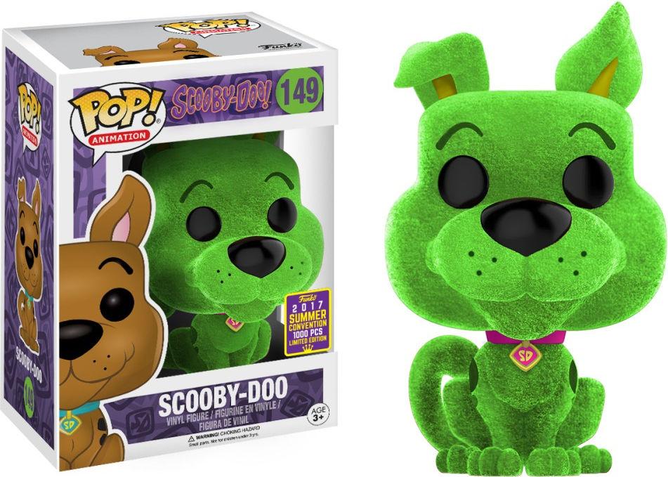 Funko Pop! Animation #149 Scooby-Doo Scooby-Doo [Flocked, Green]