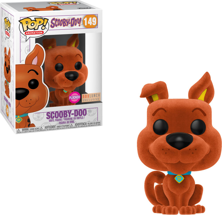 Funko Pop! Animation #149 Scooby-Doo Scooby-Doo [Flocked, Orange]
