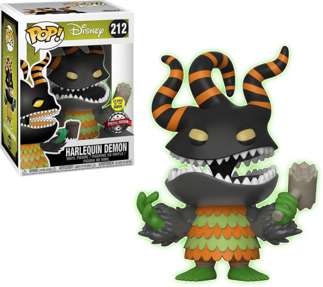 Funko Pop! Disney #212 The Nightmare Before Christmas Harlequin Demon [Glow-in-the-Dark]