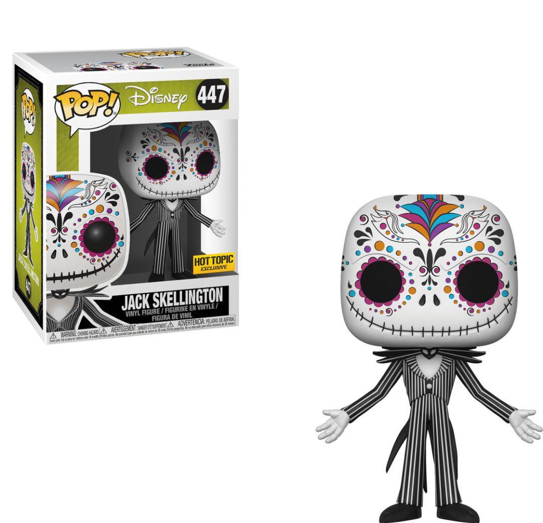 Funko Pop! Disney #447 The Nightmare Before Christmas Jack Skellington [Sugar Skull Art]