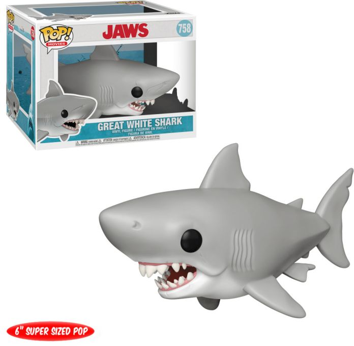 Funko Pop! Movies #758 Jaws Great White Shark