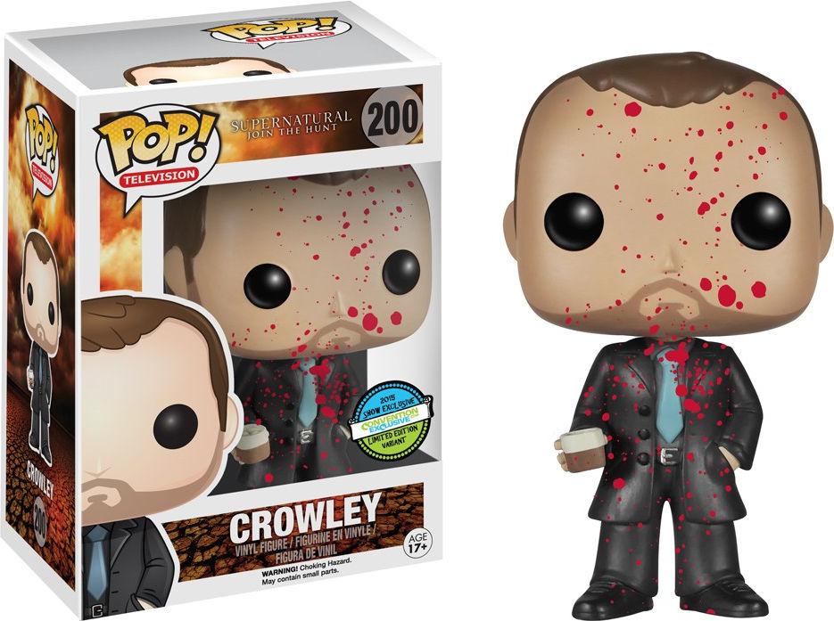 Funko Pop! Television #200 Supernatural Crowley [Bloody]