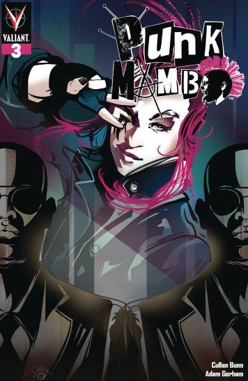 Valiant Entertainment's Punk Mambo issue #3 cover C by Cris Delara