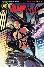 Action Lab Danger Zone's Vampblade Season 4 Issue #3 Cover A by Winston Young