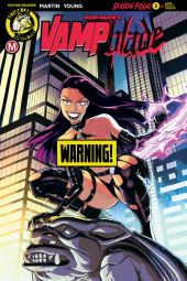 Action Lab Danger Zone's Vampblade Season 4 Issue #3 Cover B (risque) by Winston Young