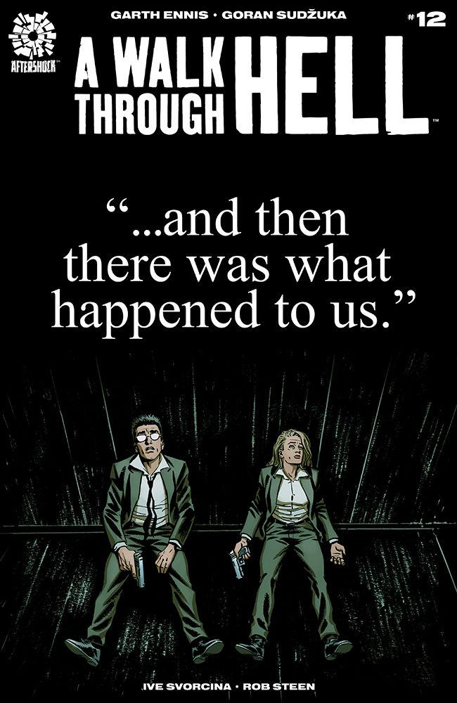 AfterShock Comics' A Walk Through Hell issue #12 cover by Goran Sudzuka.