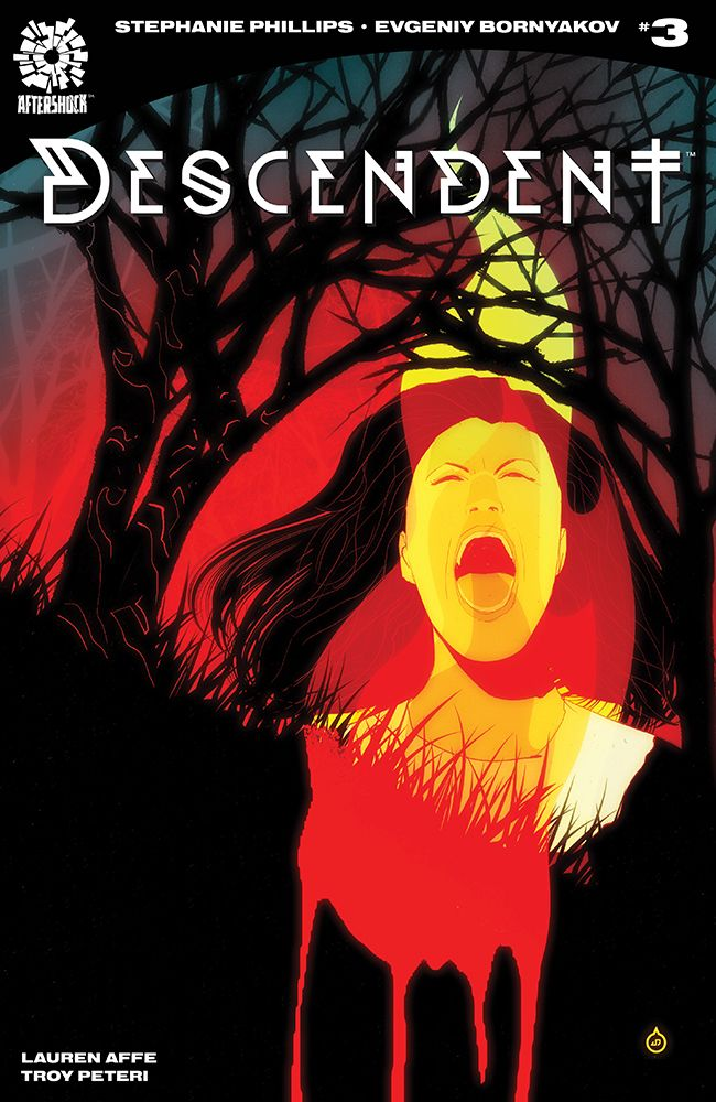 AfterShock Comics' Descendent issue #1 cover by Juan Doe.