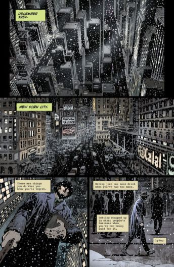 American Gothic's Monster World: The Golden Age issue #1 page 1.