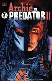 Archie Comics' Archie vs Predator II issue #1 cover D by Francesco Francavilla.