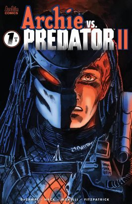 Archie Comics' Archie vs Predator II issue #1 cover D by Francesco Francavilla.