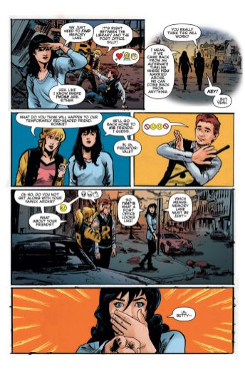 Archie Comics' Archie vs Predator II issue #1 page 4.