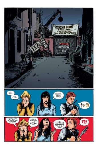 Archie Comics' Archie vs Predator II issue #1 page 5.