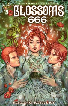 Archie Comics' Blossoms 666 issue #5 cover A by Laura Braga.