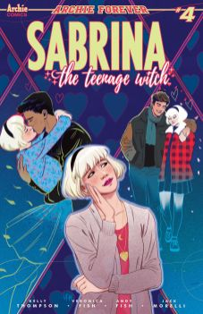 Archie Comics' Sabrina the Teenage Witch Issue #4 Cover A by Veronica Fish