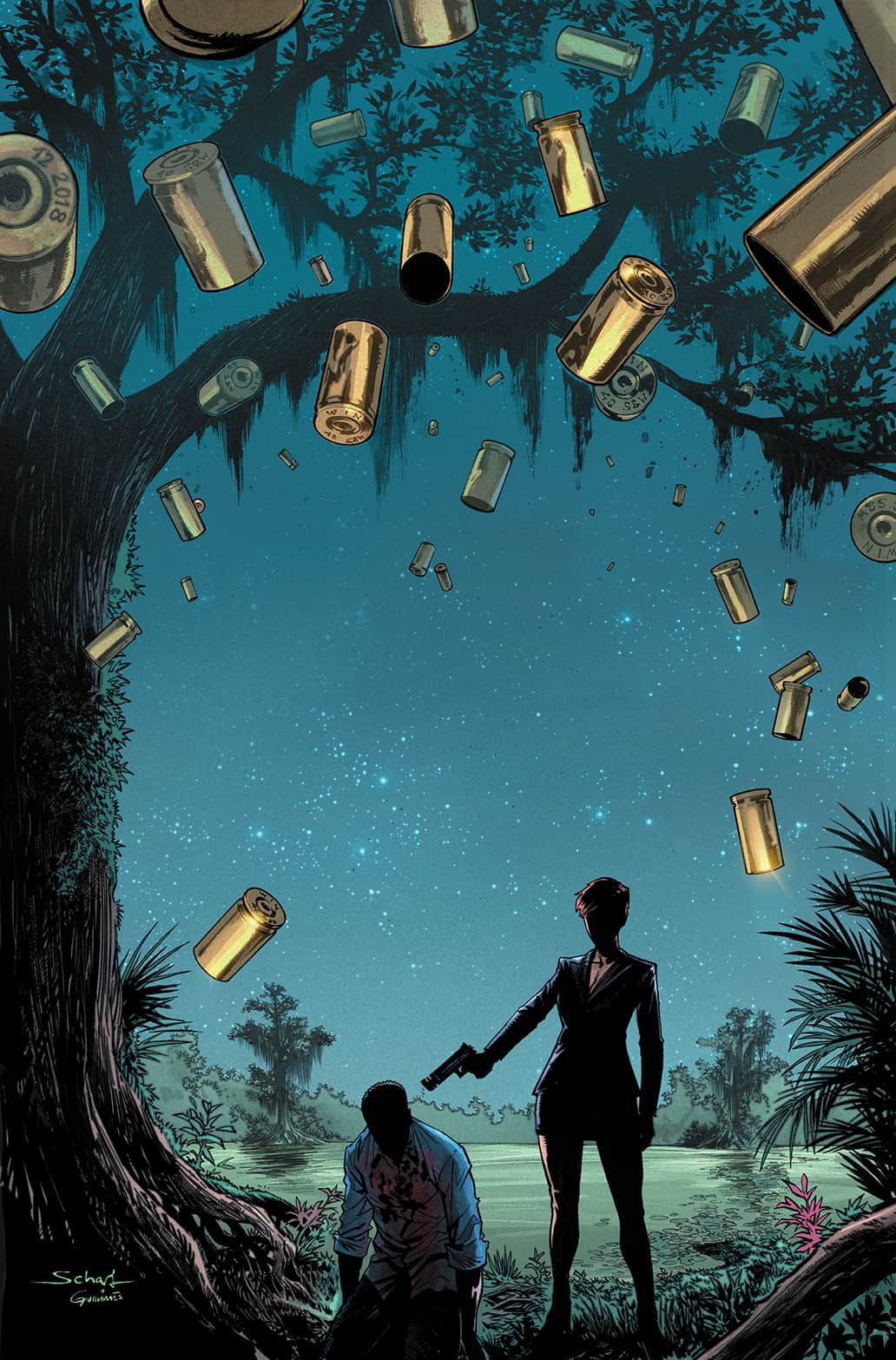 Boom! Studios' Bone Parish issue #11 cover by Jonas Scharf.