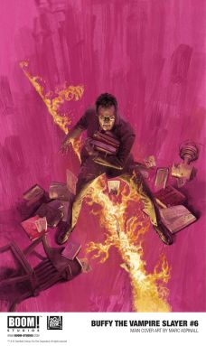 Boom! Studios Buffy the Vampire Slayer issue #6 cover A by Marc Aspinall.