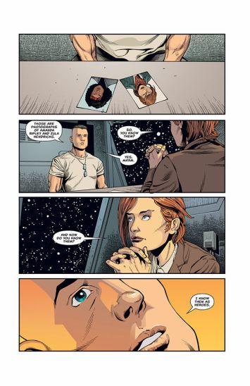 Dark Horse Comics' Aliens: Rescue issue #1 page 3.