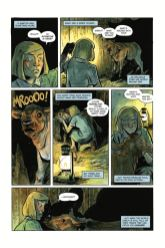 Dark Horse Comics' Harrow County library edition vol. 3 hardcover page 2.