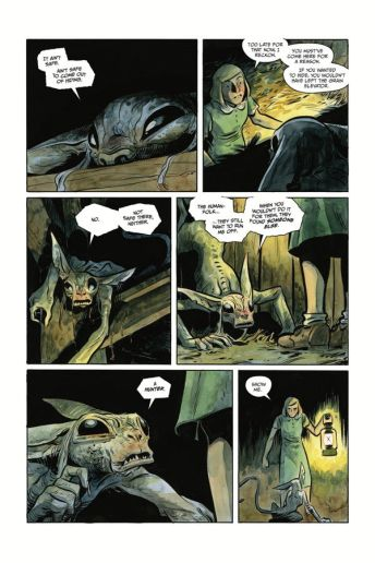 Dark Horse Comics' Harrow County library edition vol. 3 hardcover page 5.