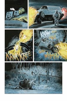 Dark Horse Comics' Manor Black Issue #1 Preview Page 3