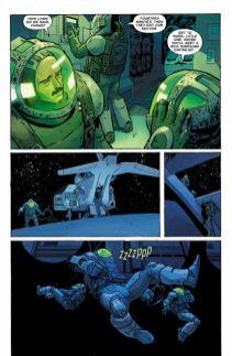 Dark Horse Comics' William Gibson's Alien 3 hardcover page 3.