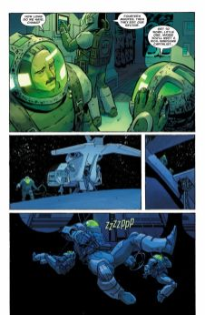 Dark Horse Comics' William Gibson's Alien 3 hardcover page 3.