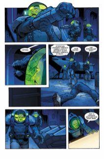 Dark Horse Comics' William Gibson's Alien 3 hardcover page 4.