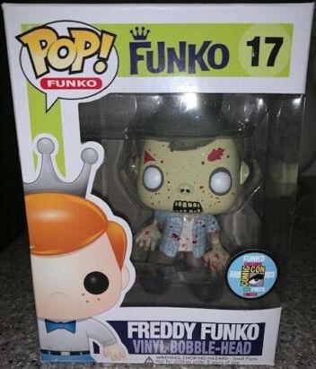Funko Pop! #17 Freddy Funko [as Walker Zombie, Bloody]