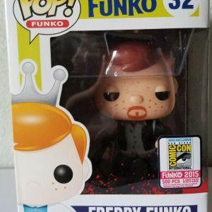 Funko Pop! #32 Freddy Funko [as Daryl Dixon, Bloody]
