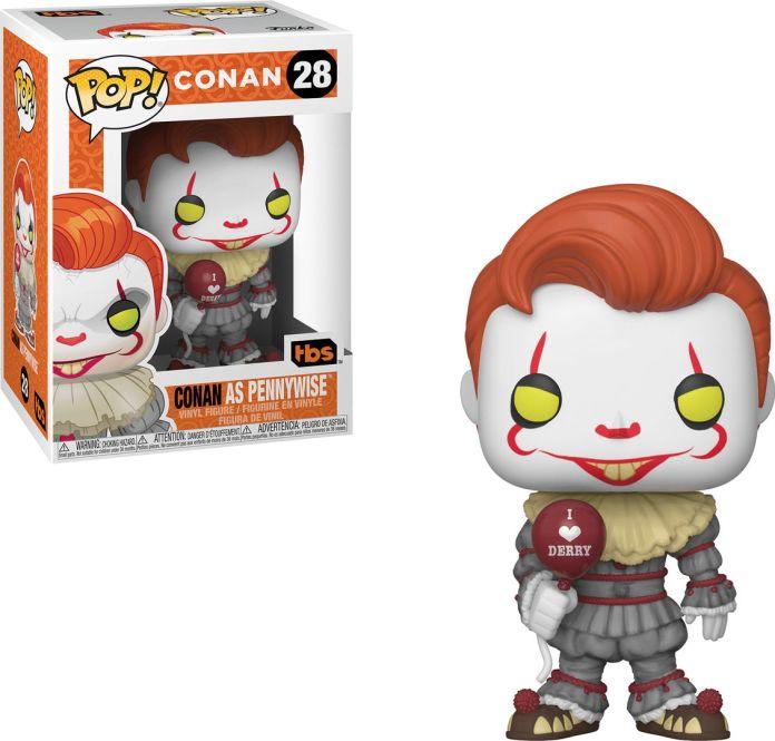 Funko Pop! Conan #28 Conan O'Brien Conan as Pennywise