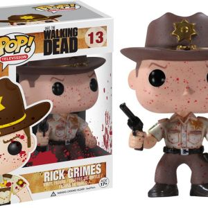 Funko Pop! Television #13 The Walking Dead Rick Grimes [Bloody]