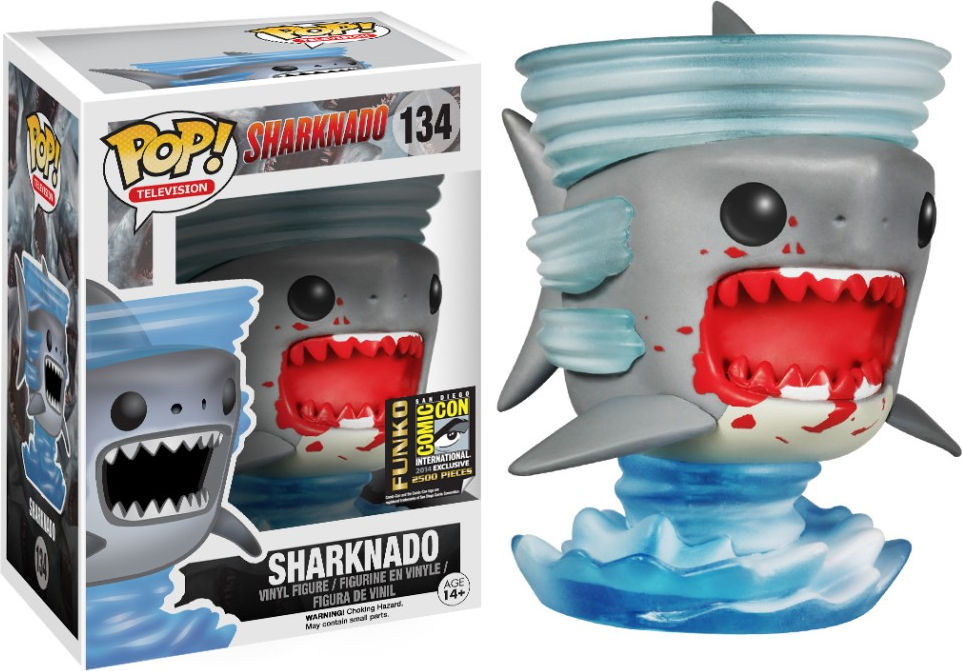 Funko Pop! Television #134 Sharknado [Bloody]
