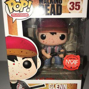 Funko Pop! Television #35 The Walking Dead Glenn [Bloody]