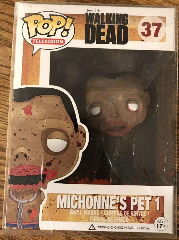 Funko Pop! Television #37 Walking Dead Michonne's Pet 1 [Bloody]