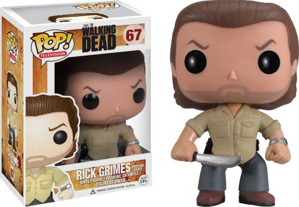 Funko Pop! Television #67 The Walking Dead Rick Grimes (Prison)