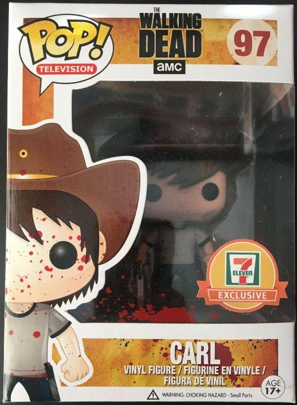 Funko Pop! Television #97 The Walking Dead Carl [Bloody]