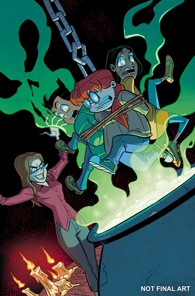 IDW Publishing's Goosebumps: Horrors of the Witch House Issue #3 Cover