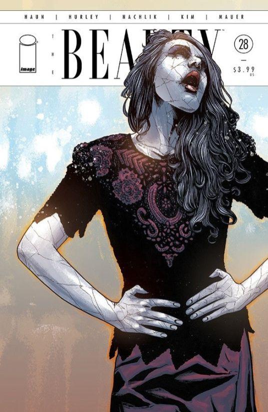 Image Comics' The Beauty Issue #28 Cover B by Jeremy Haun & Nick Filardi