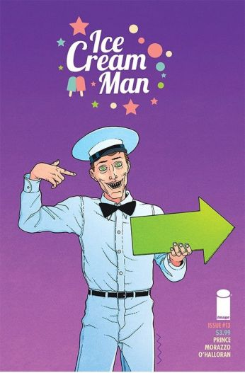 Image Comics' Ice Cream Man Issue #13 Cover A by Martin Morazzo