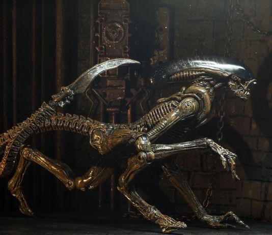 NECA Toys' Alien 3 Ultimate Dog Alien 7-inch scale action figure.