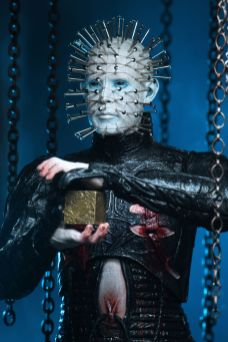 NECA Toys' Hellraiser ultimate Pinhead 7-inch action figure (closeup).