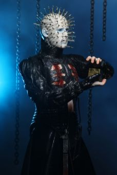 NECA Toys' Hellraiser ultimate Pinhead 7-inch action figure (angled right).