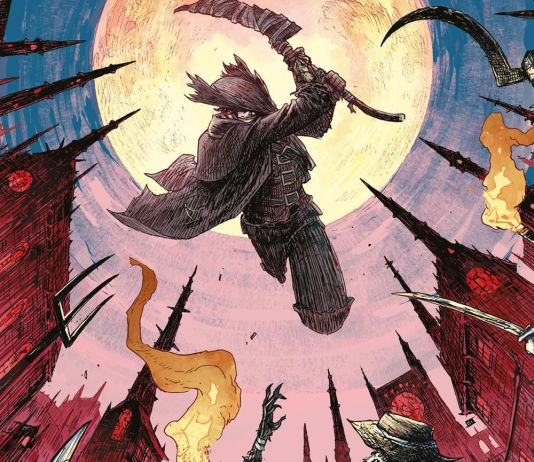 Titan Comics' Bloodborne issue #13 cover A by Jeff Stokely.