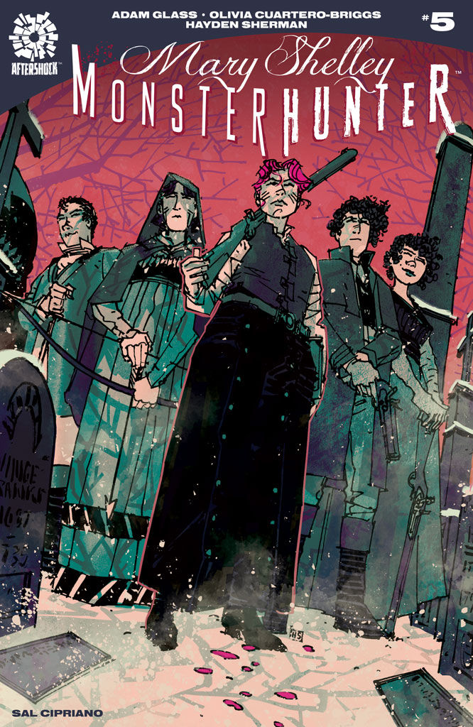AfterShock Comics' Mary Shelley: Monster Hunter Issue #5 Cover