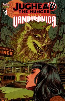 Archie Comics' Jughead: The Hunger Vs. Vampironica Issue #4 Cover B by Dan Panosian